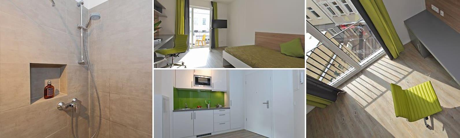 Voll möbliertes Zimmer im Bonner Zentrum - Bonn - Apartamento