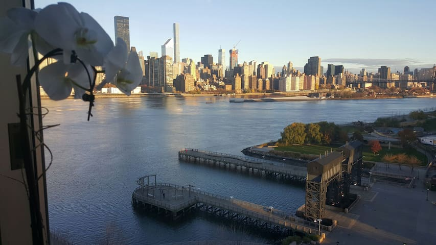 Best Loc/Views of NYC 10min to TimeSquare by Metro - Queens - Departamento