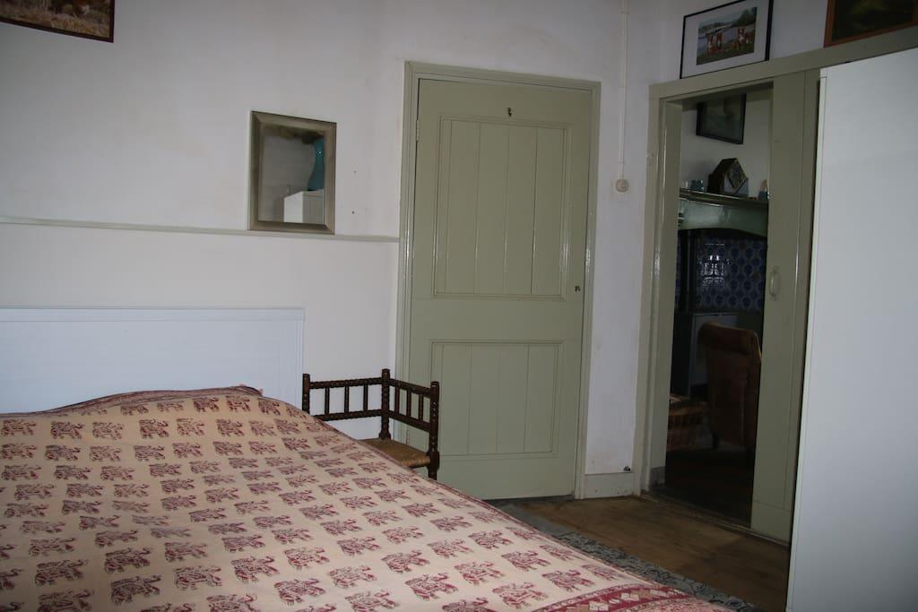 De nieuwe tweepersoonskamer