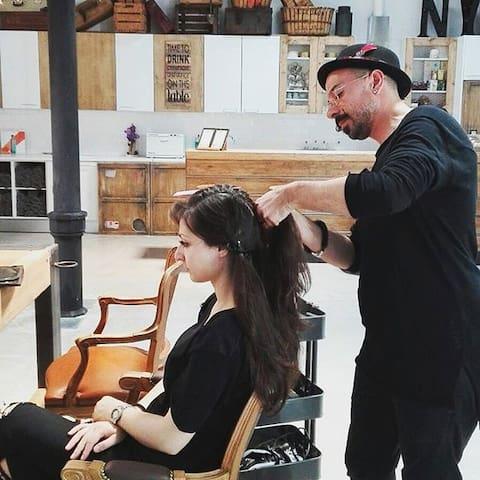 Image result for modern barcelona hairdresser