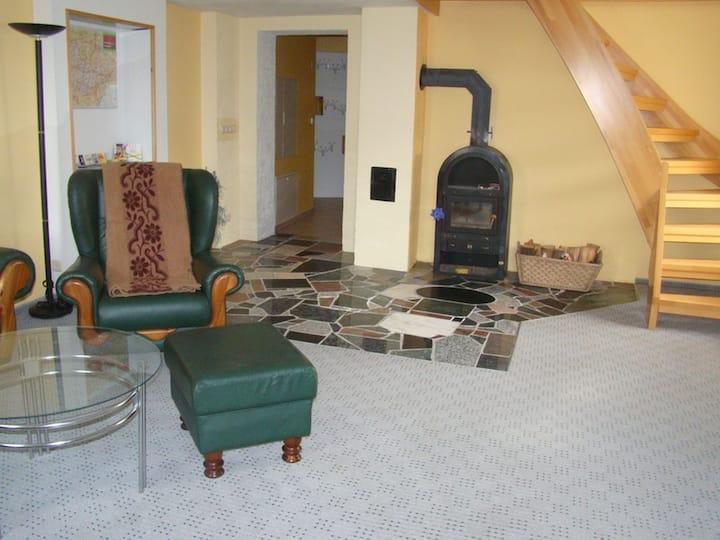 Ferienhaus zu Wohlsborn nahe Weimar (Wohlsborn Am Ettersberg) - LOH07510, Ferienhaus, 120qm, mit 3 Schlafzimmer, max. 6 Personen
