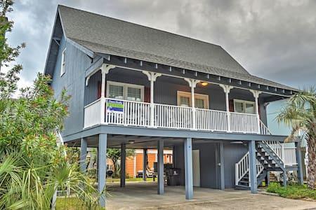 Breezy 4BR Garden City Beach House - Murrells Inlet