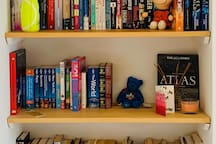 Books and DVDs to enjoy during your stay