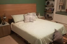 Huge spacious bedroom with Comfortable bed