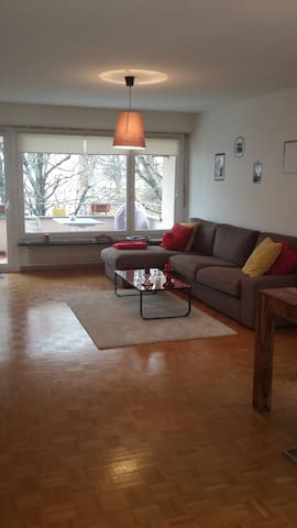 Cozy and spacious flat in zurich wollishofen - Zurych - Apartament