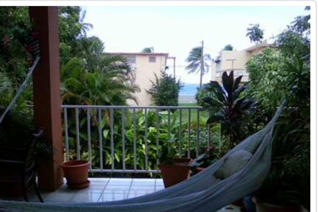 Ocean View from Balcony and Bedroom