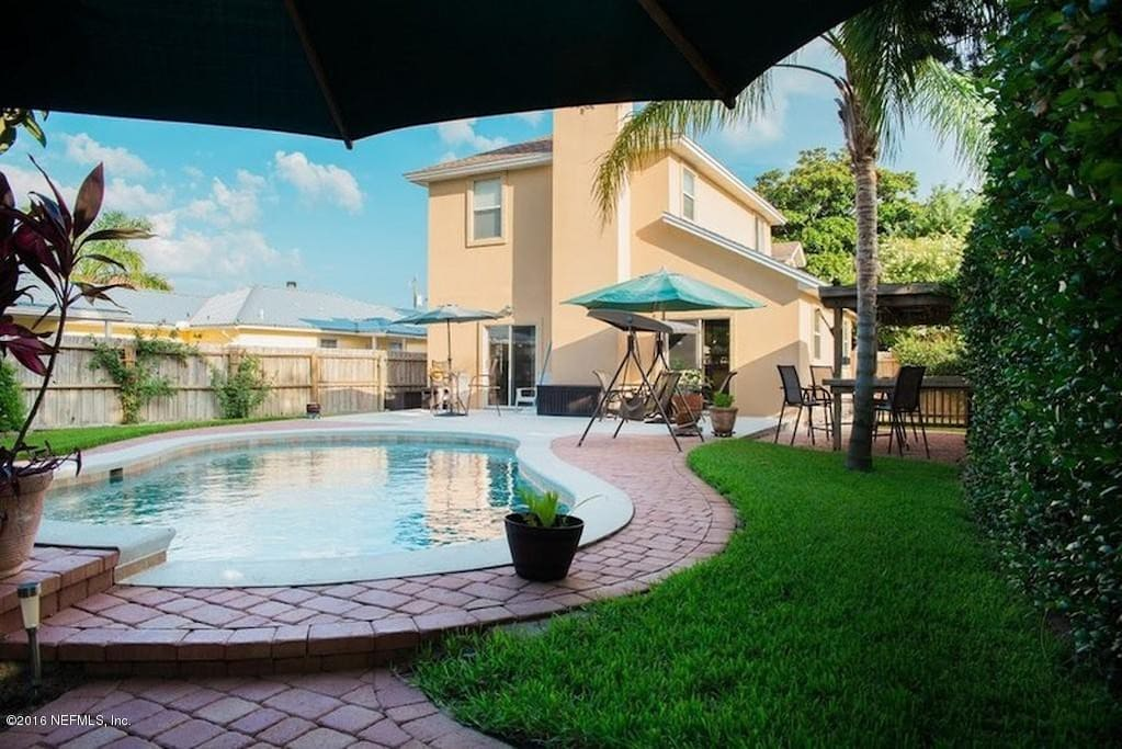 Coastal Haven Houses For Rent In Jacksonville Beach Florida United States