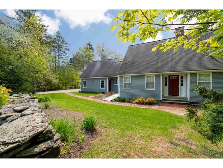 Birch House in the Woods - Close to Mt. Mansfield!