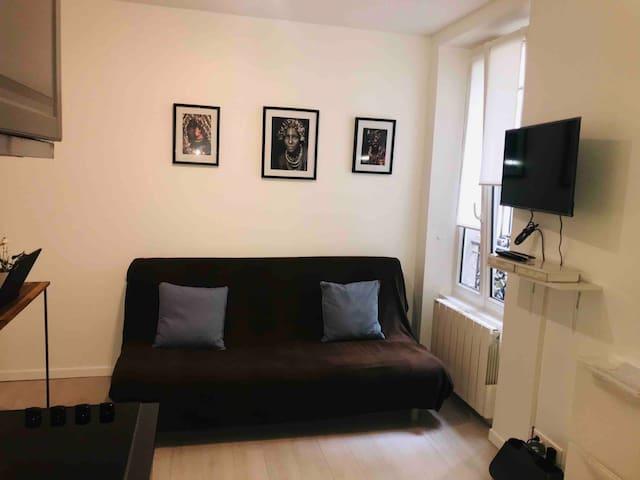 Studio cosy & moderne - Batignolles/Épinettes
