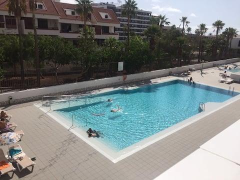 Playa de Las Américas, Appartement vue piscine