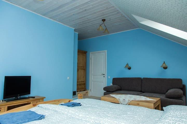 Комната  5 в усадьбе Лесная Паулинка - Mlyny - House