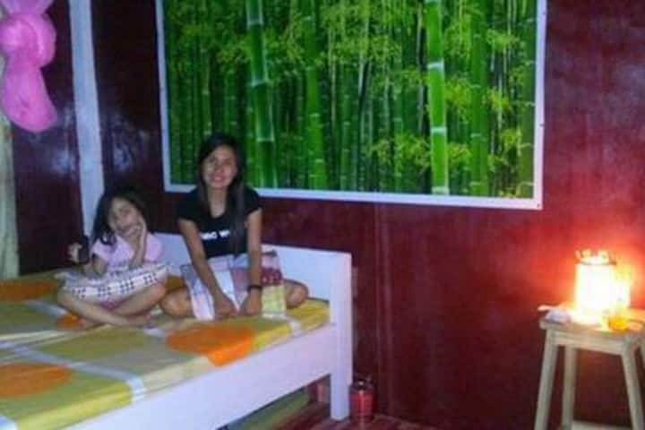 Klub Safari Resto-inn Bedroom for 4 with balcony