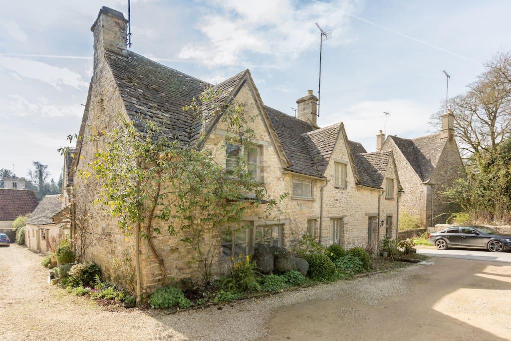 Left side cottage
