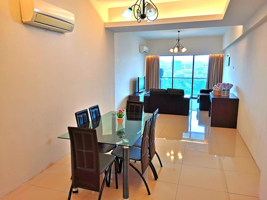 Dining Area & Living Area