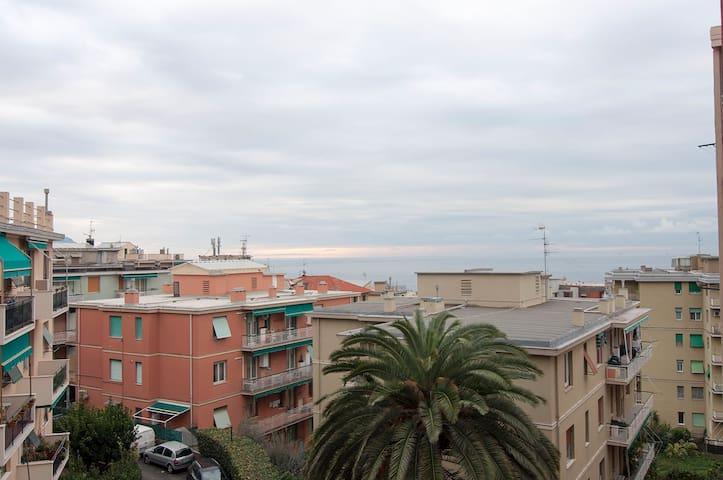 A due passi dal Mare/Porticciolo di Nervi - Genova - Apartment