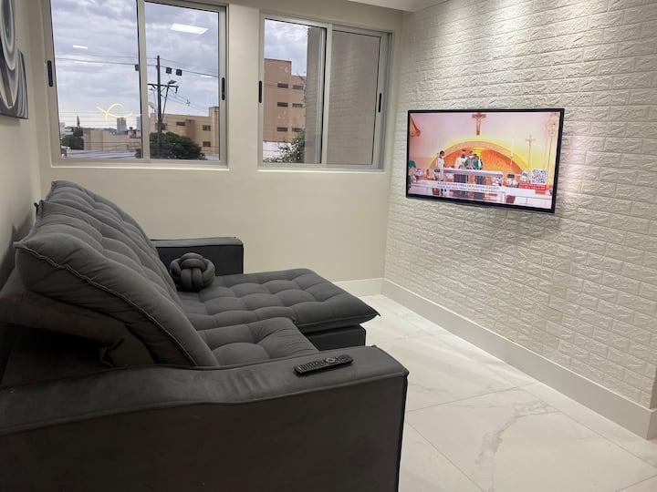 Apartamento MASCHIO (novo) centro Av JK