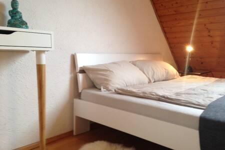 Süßes Zimmer im Dachgeschoss/Folkwang