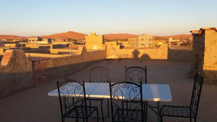 House with 4 bedrooms in Hassilabied, with wonderful city view, furnished terrace and WiFi