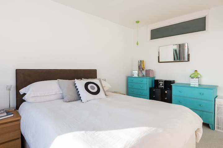 Bright and light bedroom