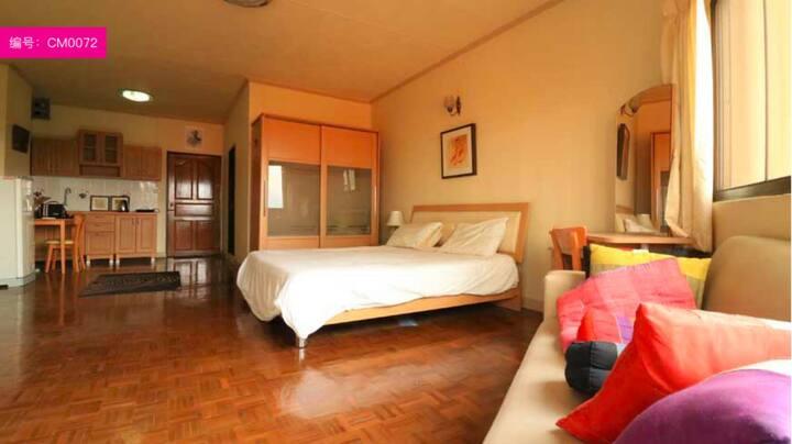 Riverside condominium