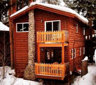 The Engelmann Spruce is a comfortable cabin located one block from Highway 40 in Downtown Winter Park, just over a mile from Winter Park Resort and on the free shuttle route. The entire downstairs lock-off will be all yours.