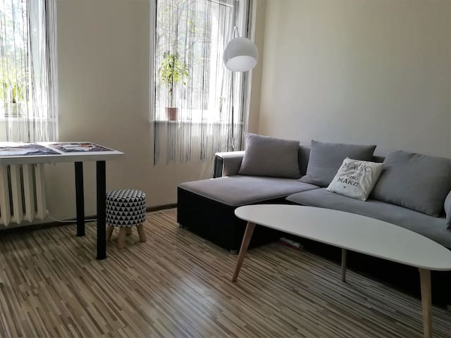 Apartment Portowa street 5 min- walk from the Sea