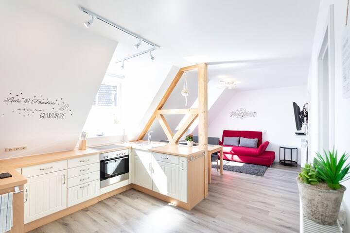 Ferienwohnung Mittendrin (Baunach), Ferienwohnung Mittendrin, 50qm mit 2 Schlafzimmern