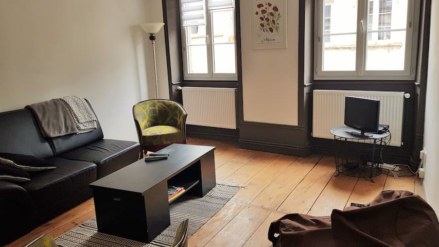 Appartement en centre ville proche rue Pasteur