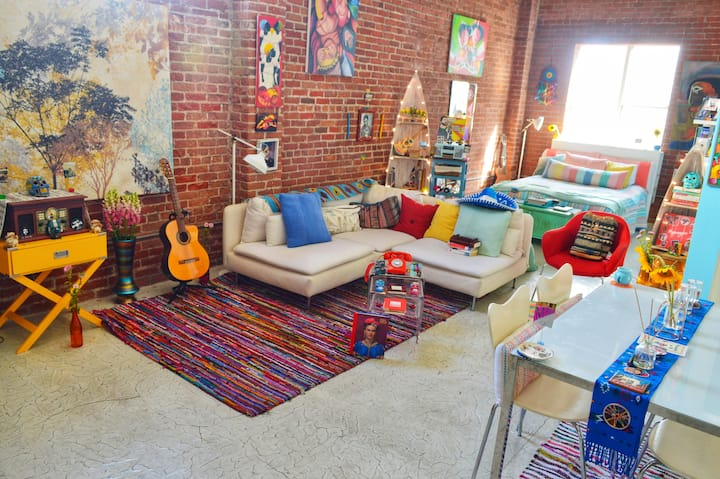 Downtown Los Angeles Bohemian Penthouse