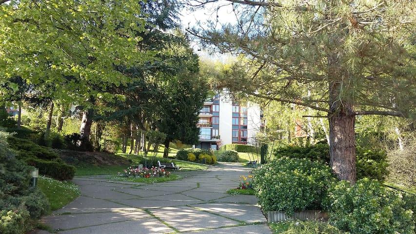 Bel appartement 91 M2 dans résidence avec piscine - Jouy-en-Josas - Apartament
