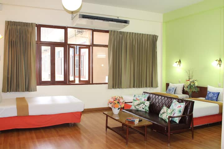 Family Triple Bed Room