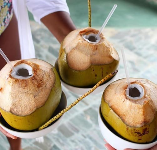 Fresh coconut water?