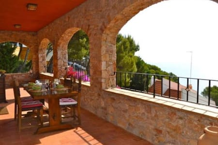 Apartment in Sa Tuna, Begur, magnificent sea views - Begur