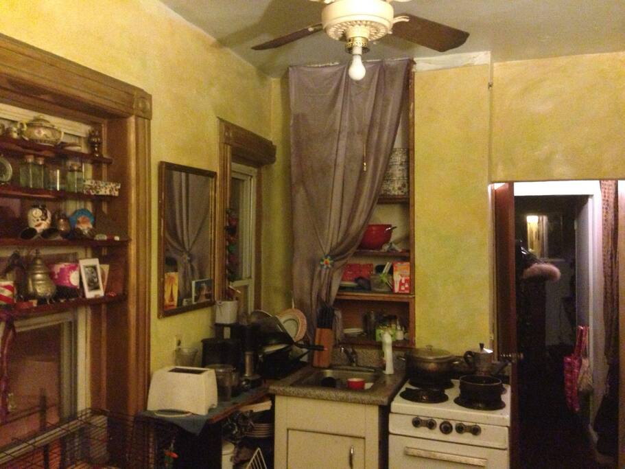 The kitchen first room