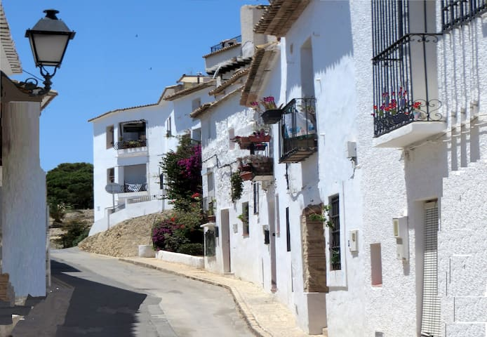 Altea old quarter. Casita Vigibbe. 2 bedroom house