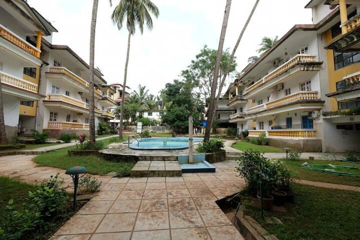 Goan Holiday Stay Near to Calangute Beach