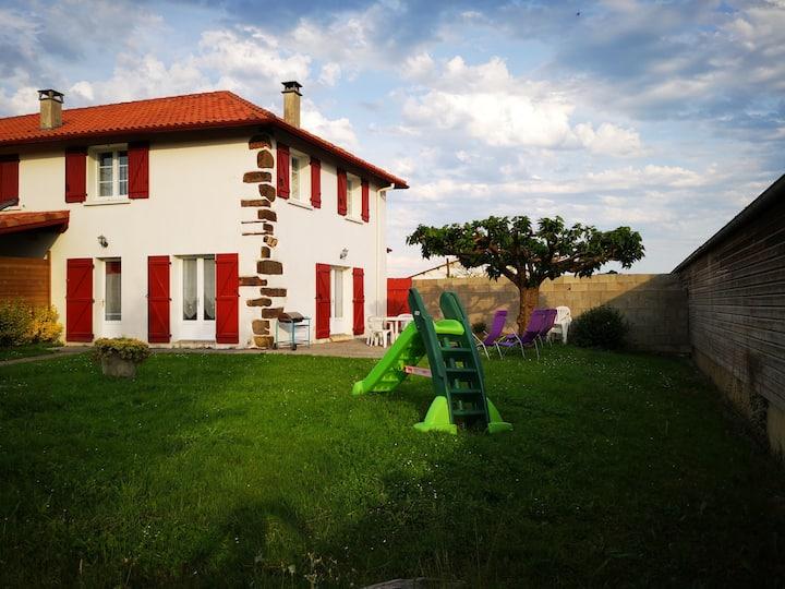Vacances à la ferme Bethanoun au Pays Basque