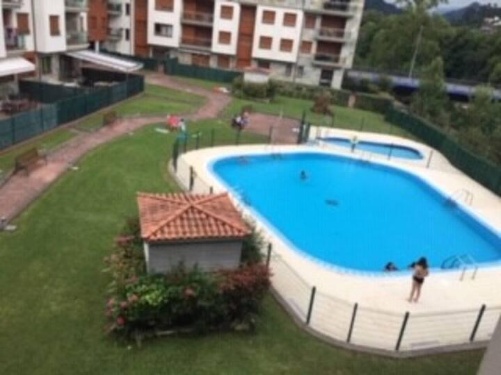 Apartamento con Piscina en Cangas de Onis