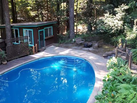 Monte Rio Pool House