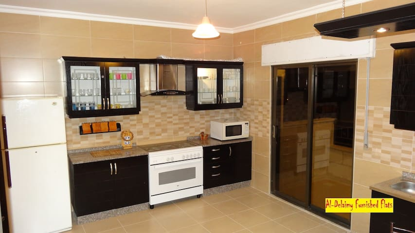 #8B Furnished flat for rent in Amman