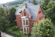 Gästezimmer in Gründerzeitvilla in Reichenbach,A72