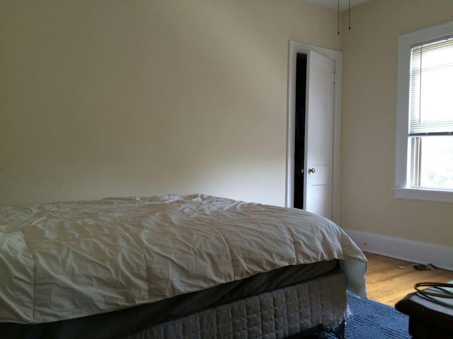 Bedroom 1 with queen-size bed