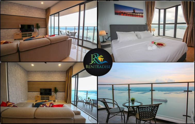 ❤️⭐【Ask For Discount】Royal Suite【Infinity Seaview】