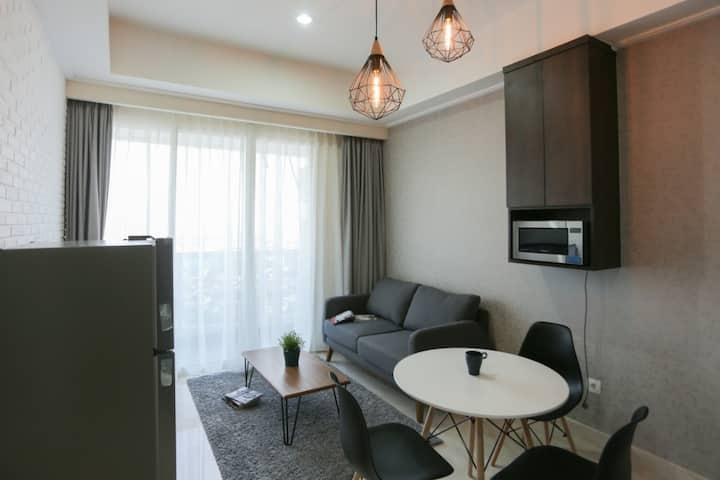 Menteng Park 2br, NEW! COZY AND CLEAN