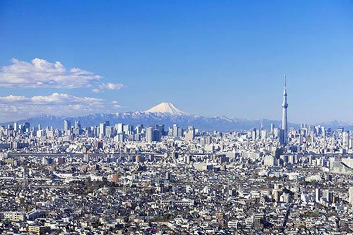 1Green TOKYO cozy and nice  stay Shinjuku to4minut - Nakano-ku - Dům