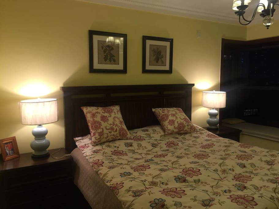 美式大床房,220*240mmm,全屋美式家具