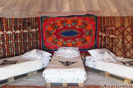 Этно-комплекс и юрточный лагерь