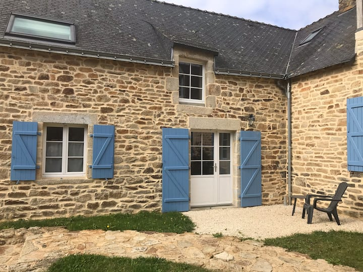 Joli appartement dans village breton - proche mer