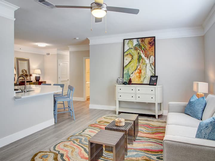 Professionally maintained apt | 1BR in Houston