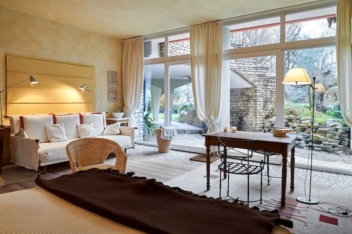 Suite Finardi Charme in the garden - Bergamo - Szoba reggelivel